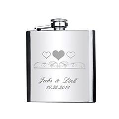 Marié / Groom / Couple / Parents Cadeaux Piece / Set Flasque Luxueux / ClassiqueMariage / Célébration / Anniversaire / Remise de diplôme