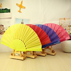 "Puuvilla Tuulettimet ja aurinkovarjot-# Kukin / Set Hand Fans Puutarha-teema 16 1/2""x9""x 3/4""(42cmx23cmx1cm) 1""x9""x 3/4""(2,4cmx23cmx1cm)"