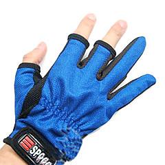 Random Color To Finger Fiskeri Anti-Slip Handske