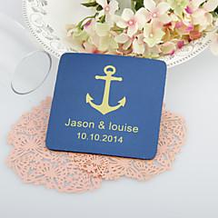 Personalizované Kotevní Svatební tácky-Sada 4 (více barev)