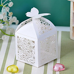 Cubiod Floral Theme Cut-out zugunsten Box (Satz 12)