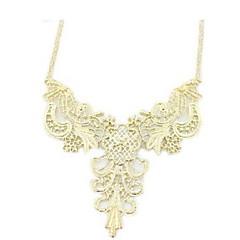 Graceful Alloy Women's Golden Necklace