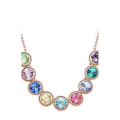 Delicate Alloy With Rhinestone Women's Necklace(More Colors)