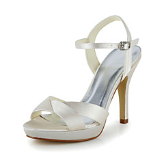 Satin Wedding Stiletto Heel Pumps Sandals (More Colors)