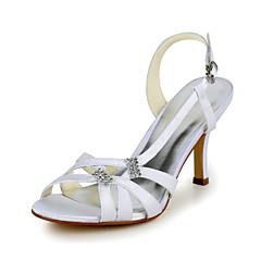 Women's Spring / Summer Heels Stretch Satin / Satin Wedding Stiletto Heel