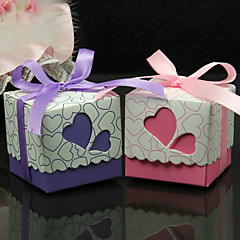 50 Piece/Set Favor Holder - Cuboid Card Paper Favor Boxes Non-personalised
