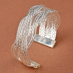 Damemote Stilig Twist Weaving Bangle Bracelet