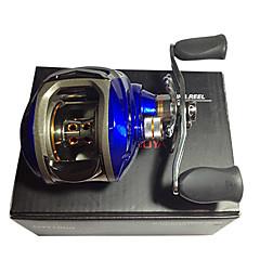 גלילי דיג גלילי פיתיון יצוק 6.3:1 11 מיסבים כדוריים ימינים דיג בים הטלת פיתיון דייג במים מתוקים-DW1000