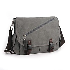 Cool Men Women Canvas Messenger Shoulder Bag