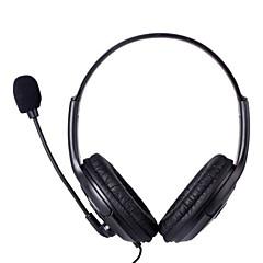 Professionelle Wired Gaming Headset w / Mikrofon für PS4 - Schwarz (3,5-mm-Stecker / 120cm-Kabel)