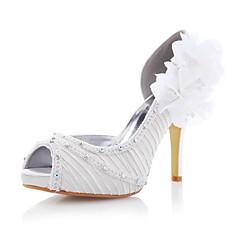 Women's Wedding Shoes Heels/Peep Toe/Platform/D'Orsay & Two-Piece Heels Wedding/Party & Evening Ivory/White