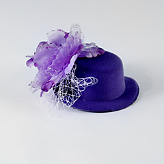 Women's / Flower Girl's Tulle / Silk Headpiece-Wedding / Special Occasion / Casual Flowers