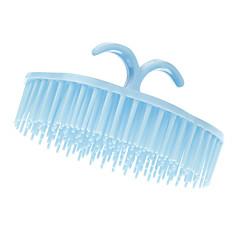Blå Afrundet Shampoo kam