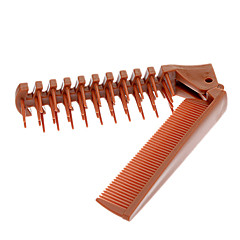 Coloful Plastic Folding Comb (cor aleatória)