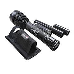 Trustfire TR-J18 5 mode 8000 LM CREE XM-L T6 LED Flashligh (3x18650 batterie, 1xCharger)