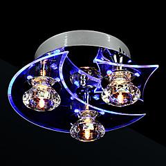 1.5W Unterputz ,  Zeitgenössisch Galvanisierung Feature for Kristall / LED Metall Wohnzimmer / Schlafzimmer / Esszimmer