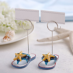 Chrome / Resin Place Card Holders - 2 Piece/Set