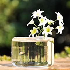 centres de table vase en verre transparent deocrations de table (fleurs non inclus)