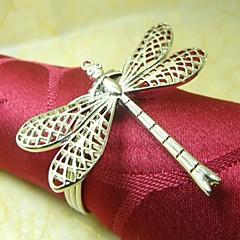Dragonfly Serviettenring, Metall, 4cm, Set 12,