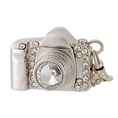 8 gb camera design usb flash drive met strass decoratie
