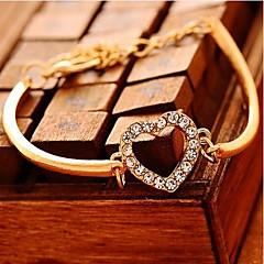 Lucky Doll Women's Diamond liefde armband