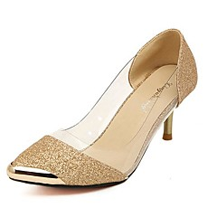 Synthetic Women's  Stiletto Heels Pointed Toe Pumps/Heels Shoes