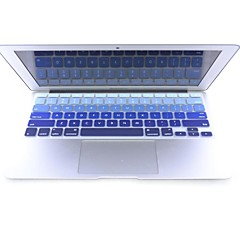 "coosbo® fargerik silikon tastatur deksel huden for 11,6 "", 13,3"", 15,4 "", 17"" MacBook Air pro retina"