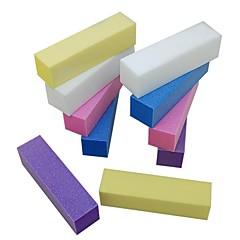 10個入りバッファアクリル爪のためのブロックファイルのネイルアートセットをサンディング