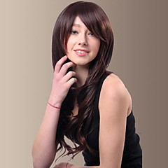 capless spesielt din beste billige syntetiske parykker for kvinner lange krøllete hår med side smell kvinnelig parykk