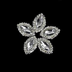 10st marquise kristal legering met strass lijn voor de vingertoppen accessoires nail art decoratie