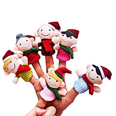 Spielzeuge Fingerpuppe Spielzeuge Zeichentrick Neuheiten - Spielsachen Jungen / Mädchen Gewebe