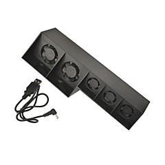 플레이 스테이션 PS4 게임 콘솔 슈퍼 USB 냉각 팬 쿨러 (5) 팬