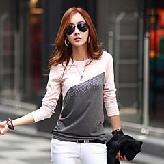 yuwinne női hosszú ujjú póló splice