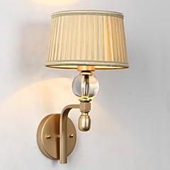 mini wandlamp 1 licht modern artistieke roestvrij stelle plating 220v
