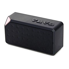 Mini Portable Wireless Bluetooth Speaker Rechargeable Battery for Smartphones Mp3/Mp4 Psp and Music Player Black