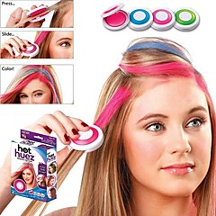 New 4 Color/Set Hot European Fashion Temporary Hair Chalk Powder Temporary Pastel Hair Dye Temporary Wash-Out