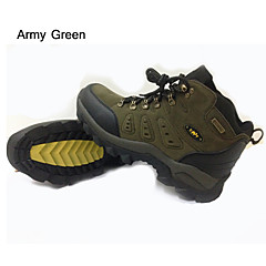 Unisex Anti-Slip Wearproof Waterproof Breathable Outdoor Classic Fur Lace-up Real Leather Velvet Breathable Mesh Perforated EVAClimbing