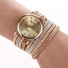 w&q contrasterende kleur armband horloge
