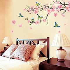 romantische Kirschblüte förmigen Schlafzimmer / Wohnzimmer / TV Hintergrund Wandsticker