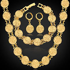 Κοσμήματα Κολιέ / Cercei / Βραχιόλι Σετ Κοσμημάτων Γάμου / Πάρτι / Καθημερινά / Causal / ΑθλητικάΚράμα / Επιμεταλλωμένο με Πλατίνα /