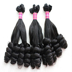 "3pcs/lot Brazilian Hair Curly #1B 10"" ~ 34"" Bouncy Curl"