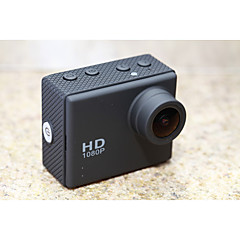 Sports Action Camera 12MP 2592 x 1944 G-Sensor / Anti-Shock / Waterproof 4x 2 CMOS 32 GB H.264English / Italian / Russian / French /