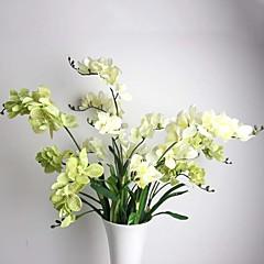 """33.5 """"drie hoofden silkprint vanda kunstmatige bloem set van 1"""