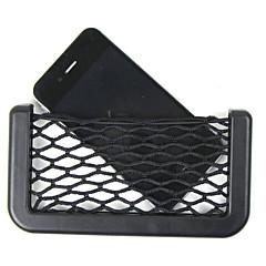 auton netto järjestäjä taskut auto varastointi net 14.5x8cm autojen kassi laatikko liima visiiri auton laukku työkaluja matkapuhelin