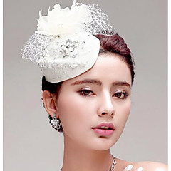 European Style Feather/Rhinestone/Net Wedding/Party Headpiece/Flowers/Hats