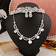 Jewelry Set Women's Anniversary / Wedding / Engagement / Party / Special Occasion Jewelry Sets Alloy / Vermeil / Rhinestone Rhinestone