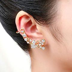 Poignets oreille Cristal Acrylique Plaqué argent Plaqué or Imitation de diamant Argent Doré Bijoux Mariage Soirée Quotidien Décontracté