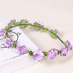 Mulheres / Menina das Flores Papél / Plástico Capacete-Casamento / Ocasião Especial / Casual / Escritório e Carreira / Ao ar Livre