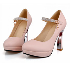 Women's Shoes Leather Stiletto Heel Platform Pumps/Heels Wedding Shoes More Colors available