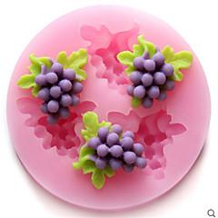 Bageforme silikone druer bagning forme til fondant slik chokolade kage (tilfældige farver)